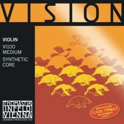 Thomastik-Infeld Vision Violin Strings, G- Silver Wound/Synthetic Core