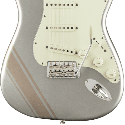 Fender Limited Edition FSR Traditional 50s Stratocaster Maple Inca Silver Shoreline Gold Stripes for sale