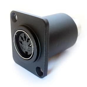Temple Audio Design Midi 5 Pin Din Feedthrough Connector