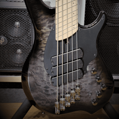Dingwall Combustion C3   5-string, NEW Quilted Black Burst / 3X Pickups! With Dingwall Gigbag! for sale