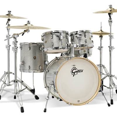 Gretsch Catalina Maple 5-Piece Shell Pack- Silver Sparkle