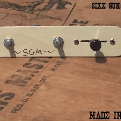 sgm tele guitar 3 way wiring harness, 250k pots, 1/4