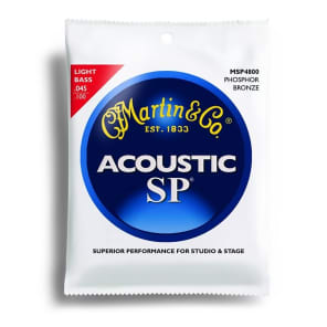 Martin MSP-4800 SP 92/8 Light Acoustic Bass Strings
