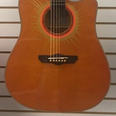 Esteban Coral Sun Acoustic/Electric w/Case for sale