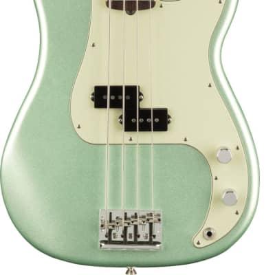 Fender American Professional II Precision Bass RW Mystic Surf Green w/case