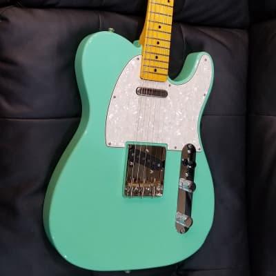 Custom Tele Seafoam Green