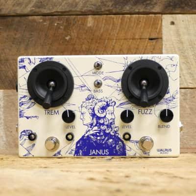 Walrus Audio Janus Tremolo/Fuzz 2018 White