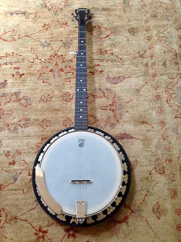 Deering USA Vega Little Wonder 5-string maple resonator banjo natural