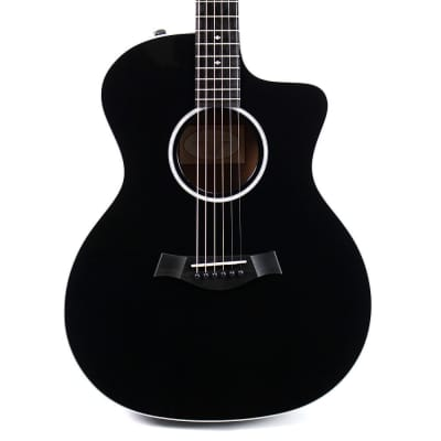 Taylor 214CE Grand Auditorium Deluxe Acoustic Electric - Black