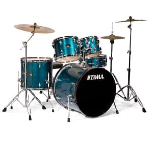 """Tama IP52KCHLB Imperialstar 10"""" / 12"""" / 16"""" / 22"""" / 5x14"""" 5pc Kit w/ Meinl HCS Cymbals"""