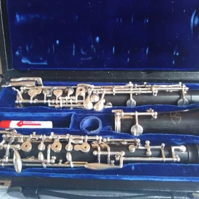 Fox 400 2001 Black Grenadilla wood Professional Oboe with may Extras