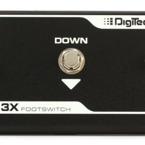 Digitech FS3X 3-Button Footswitch pedal for sale