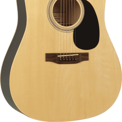 Savannah SGD-12-NA Dreadnought Acoustic Guitar Natural Color for sale