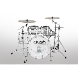 "Crush A2C428CC Acrylic 10/12/16/22"" 4pc Drum Kit"