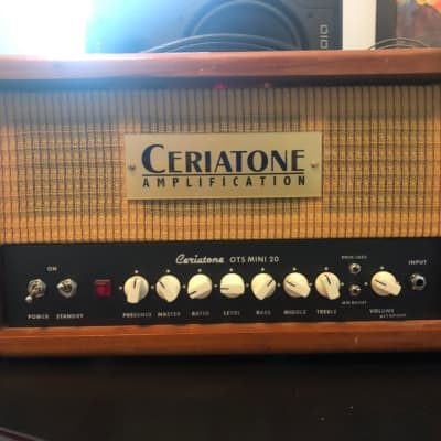 Ceriatone OTS Mini 20 awesome DUMBLE Overtone tones in this compact lunchbox style head.