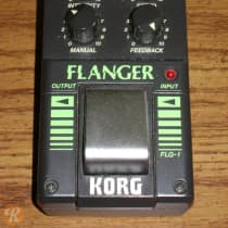 Korg FLG-1 Flanger 1990s Black image