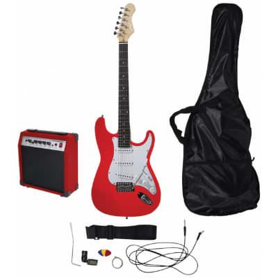 Johnny Brook Beginner Guitar Kit Red for sale