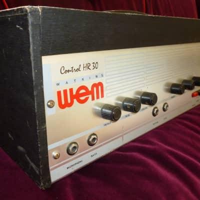 WEM Watkins Control HR30 1960s Black for sale