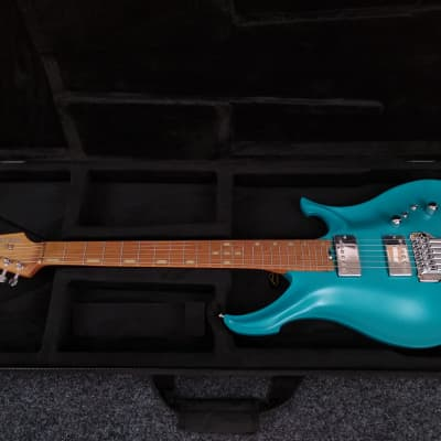 KOLOSS X6 Aluminum body electric guitar Satin Blue for sale