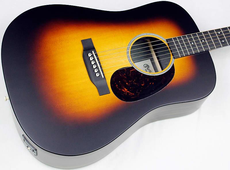 2018 martin dx1ae macassar burst acoustic electric guitar reverb. Black Bedroom Furniture Sets. Home Design Ideas