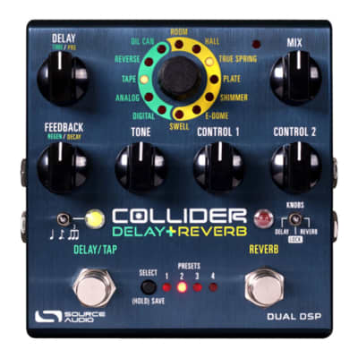 Source Audio SA263 Collider Stereo Delay+Reverb for sale