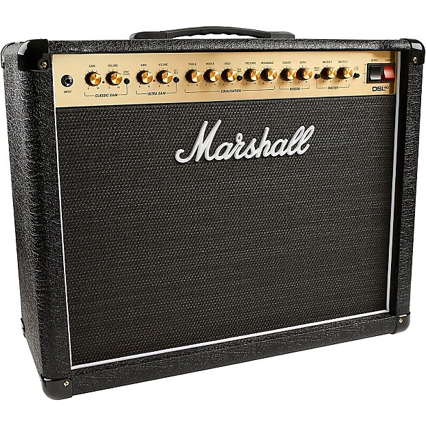 marshall dsl40cr 40w 1x12 tube guitar combo amp regular reverb. Black Bedroom Furniture Sets. Home Design Ideas