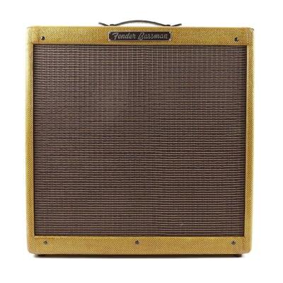 """Fender Bassman 5E6-A Narrow Panel 40-Watt 4x10"""" Guitar Combo 1955 - 1957"""