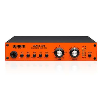 Warm Audio WA12 MKII Mk2 Dual Transformer Microphone / Instrument Preamp