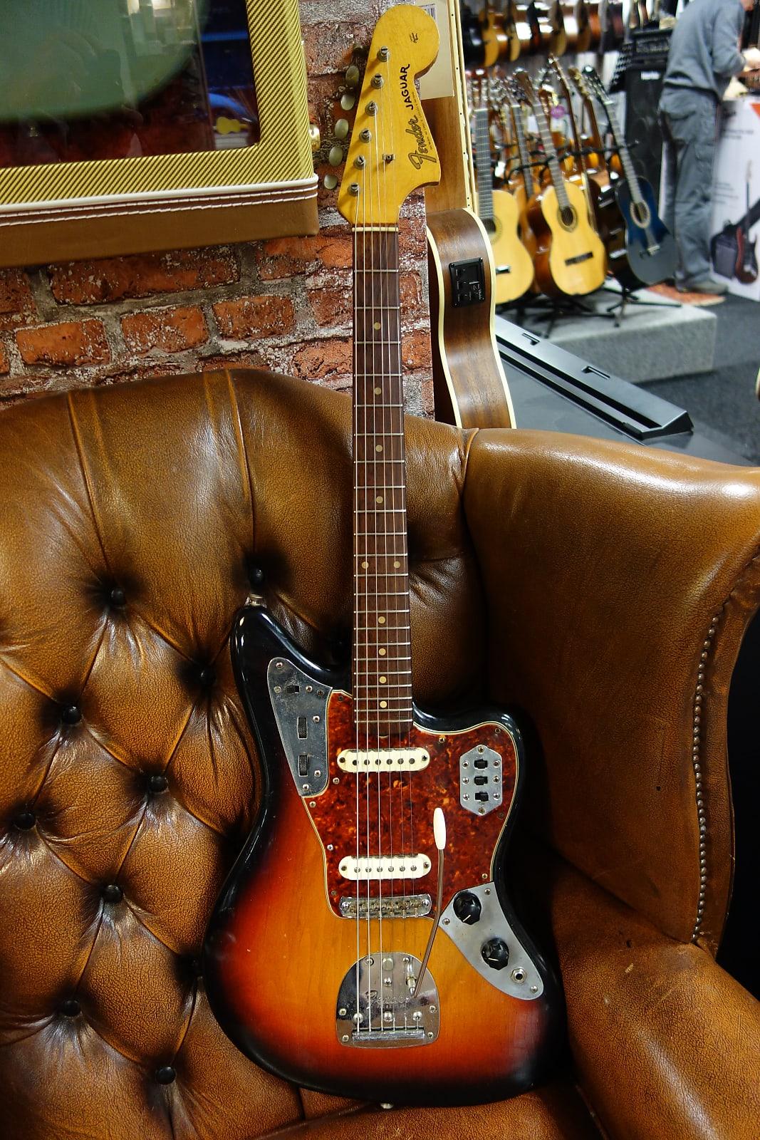 Fender Jaguar 1963 Sunburst Refin