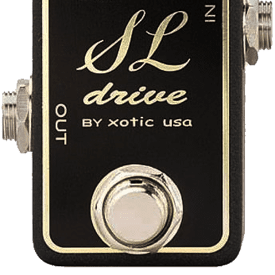 XOTIC SL DRIVE - COMPACT OVERDRIVE PEDAL for sale