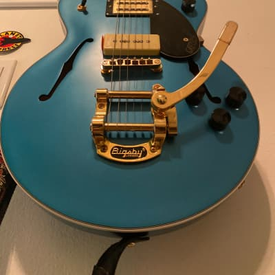 Gretsch G2655TG‑P90 Limited Edition Streamliner Center Block Jr. P90 with Bigsby  2019  blue