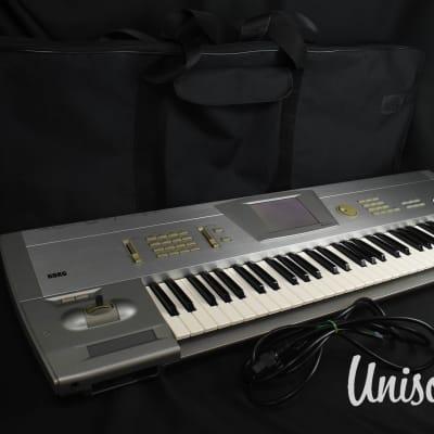 Korg Trinity Plus Music Workstation DRS Keyboard Synthesizer w/ Soft Case