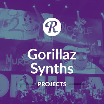 Gorillaz Synths Projects