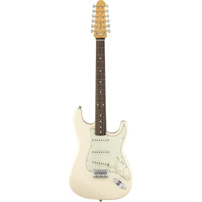 Fender Japan Traditional Stratocaster XII Olympic White for sale