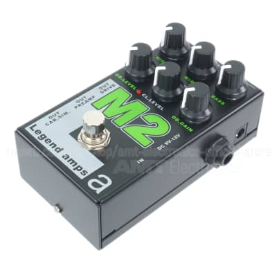 AMT Electronics M2 - 2 channels guitar preamp/distortion pedal (Marshall) (DHL fast shipping!)