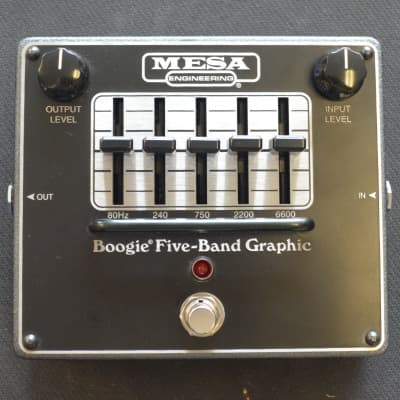 Mesa Boogie Boogie Five Band Graphic EQ for sale