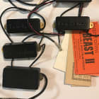 Bartolini Pickups LOT  1990s Black LOT of 7 working pickups!! N.O.S. SELLING INSTANTLY!! image