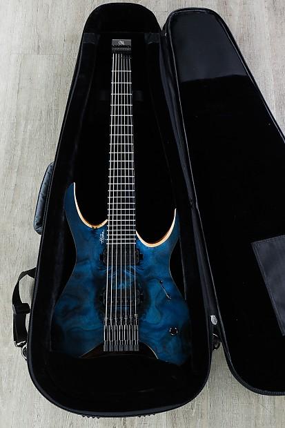 Mayones Hydra Elite 7 String Headless Electric Guitar Blue