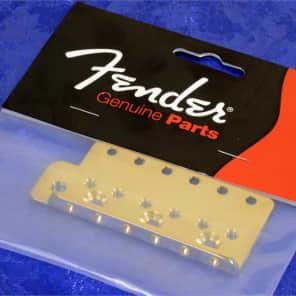 Fender USA Vintage Series Stratocaster Left Handed Gold Plated SRV Tremolo Bridge Plate 0038960000