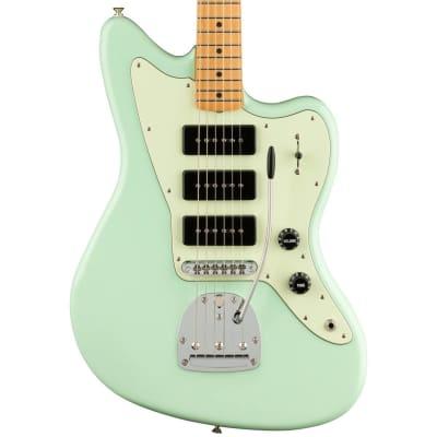 Fender Noventa Jazzmaster Electric Guitar (Surf Green, Maple Fretboard) for sale
