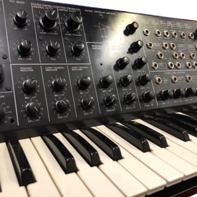 Vintage Korg MS-20 Semi Modular Analog Synthesizer. Serviced And Tested.