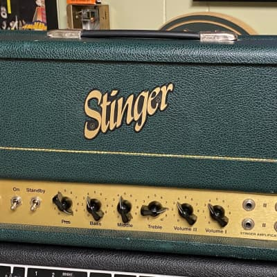 STINGER JTM45 CLONE ROBERT HUDSON MADE IN USA HAND WIRED TWEED BASSMAN 1998 GREEN for sale