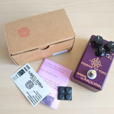 Analogman (Analogue Man) Prince of Tone POT Overdrive Guitar Pedal, Early Example for sale