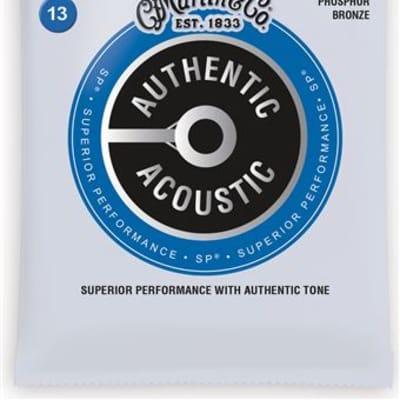 Martin MA550 Authentic Acoustic SP Phosphor Bronze Acoustic Strings