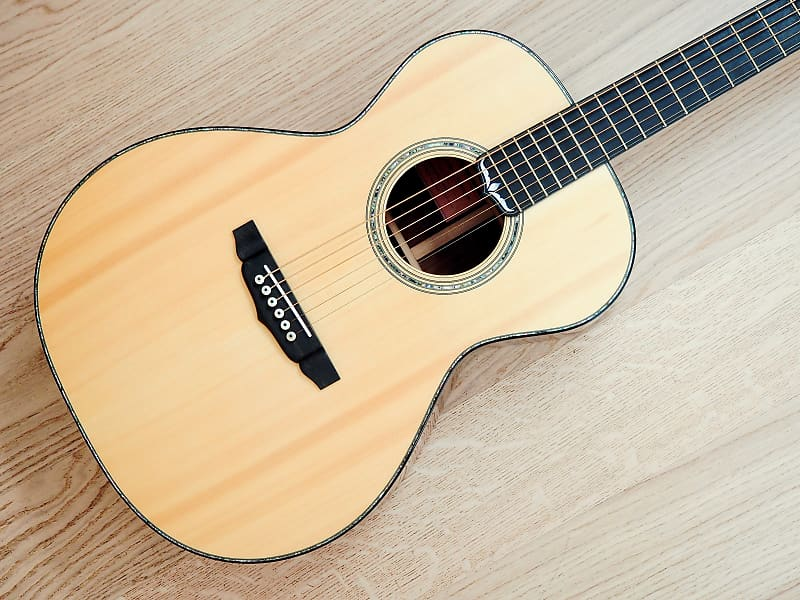 2011 Nathan Anderson Grand Concert Acoustic Guitar Carpathian Spruce Top,  Rosewood body, w/ohc