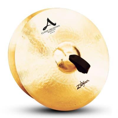 "Zildjian 18"" A Classic Orchestral Selection Medium Light Cymbal Pair - Mint, Demo"