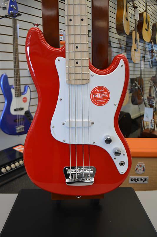 Squier Bronco Bass - Torino Red