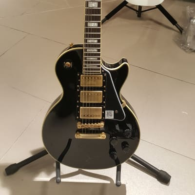 Epiphone Les Paul Black Beauty 3 Pickup 2017 Black for sale