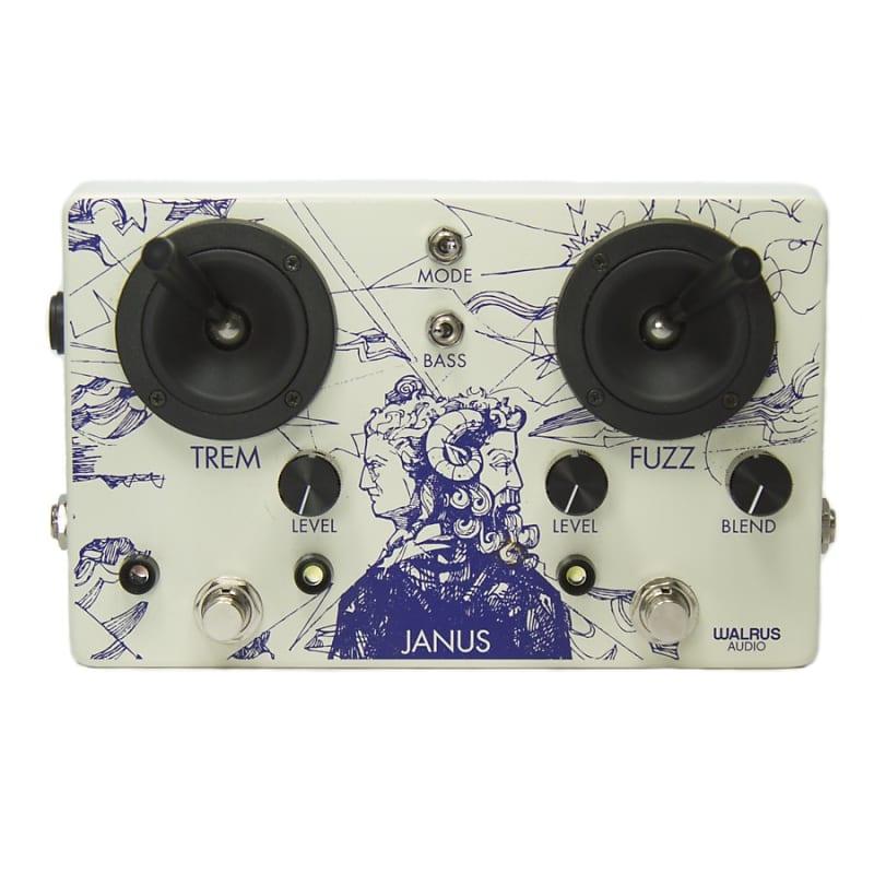 Walrus Audio Janus Tremolo / Fuzz Effects Pedal