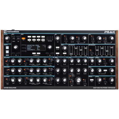 Novation Peak 8-Voice Desktop Polyphonic Synthesizer